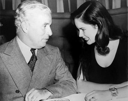 Чарли и Уна Чаплин. Синастрия. Великие истории любви. Гороскоп совместимости.